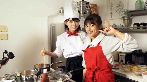 料理が得意な沖田彩華・太田夢莉が作る料理とは!?