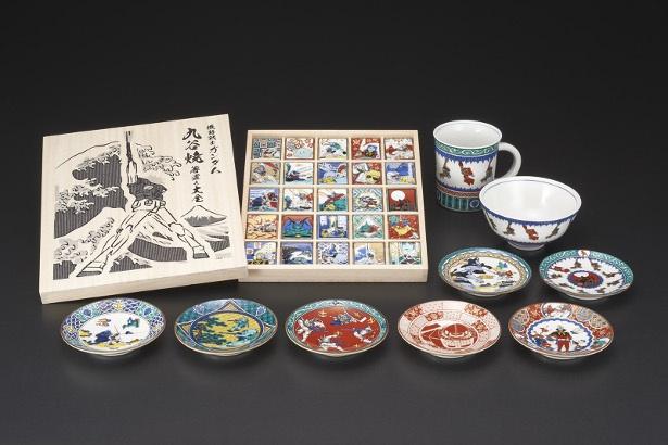 アニメ「機動戦士ガンダム」と伝統工芸品・九谷焼が衝撃のコラボ!