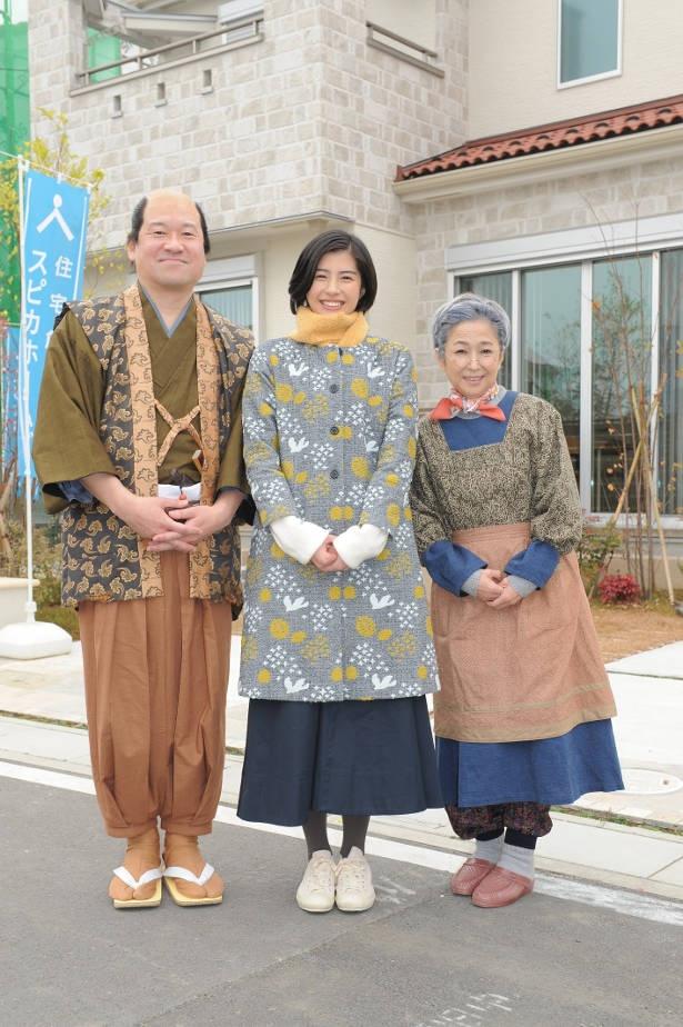 ベッドタウンで有名な埼玉・越谷で撮影がスタート