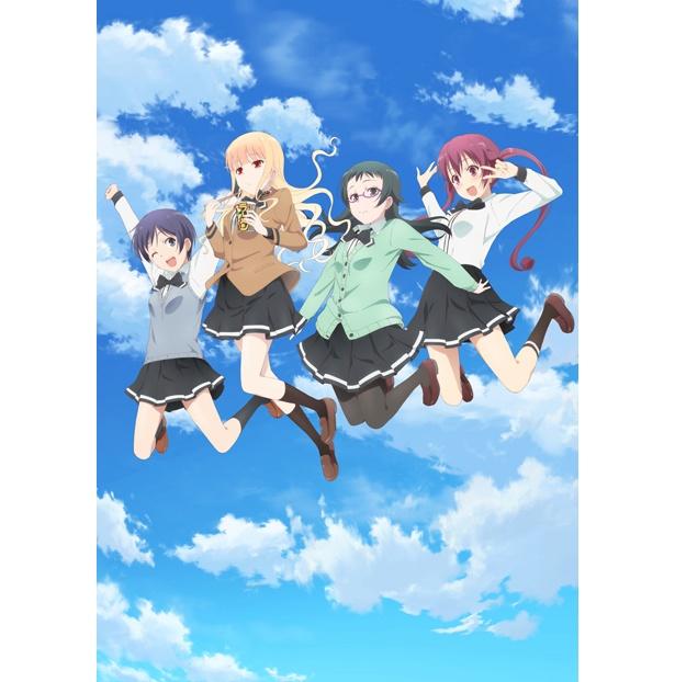 TVアニメ「ラーメン大好き小泉さん」の放送日が決定!先行上映イベントも開催!