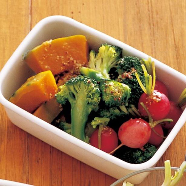 ほくほく蒸し野菜のサラダ