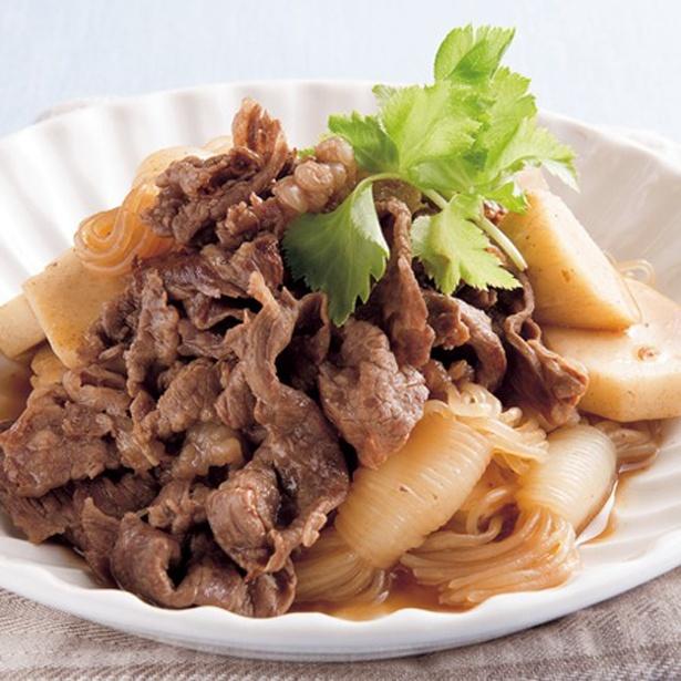 牛肉と里いものすき煮