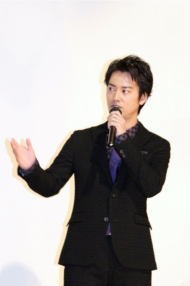 桐谷健太は「代表作ができました!」とうれしそうに語る