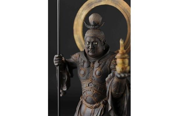 「リアル仏像 毘沙門天」(6万3000円)
