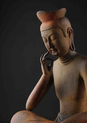 「リアル仏像 弥勒菩薩」(6万3000円)