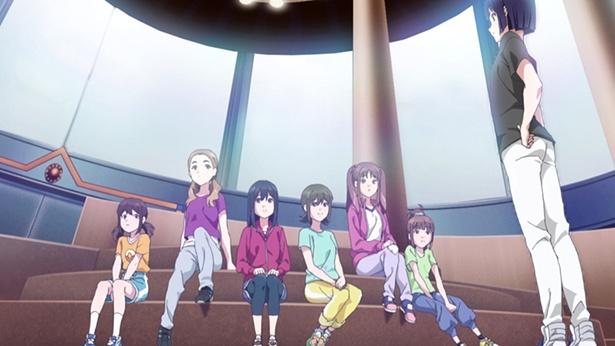 「Wake Up, Girls! 新章」第10話の先行カットが到着。歌詞作りは難航し、真夢はリハの時間に遅れ…