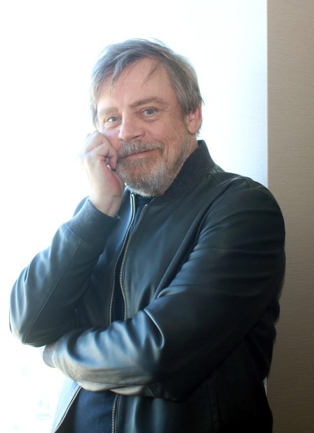 『スター・ウォーズ/最後のジェダイ』のマーク・ハミルにインタビュー