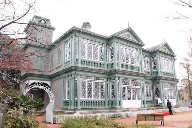 王子動物園内に移築されている旧ハンター住宅/鋼の錬金術師 in KOBE