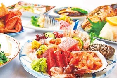 旬の海鮮と手作り料理がメイン/魚屋スタンドふじ子
