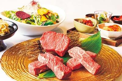 「トラジ和牛」を使った焼肉/焼肉トラジ