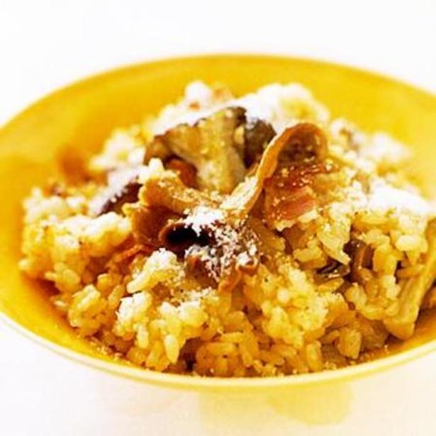 【関連レシピ】ポルチーニとエリンギの炊き込みご飯