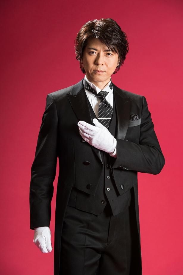 上川隆也はテレビ東京の連ドラ初主演で執事役にも初挑戦となる
