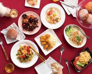 「重慶飯店 別館」の「鶏肉の炒め 唐辛子」(2,700円)、「J's Store」の「カオマンガイ」(1,170円)など
