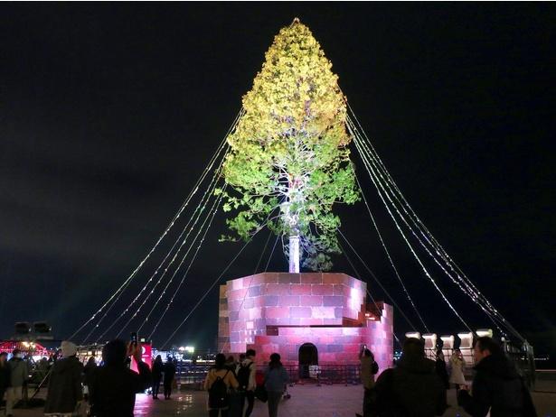 メリケンパークで開催中の「めざせ! 世界一のクリスマスツリープロジェクト~輝け、いのちの樹。~」をのリアル体験レポ!