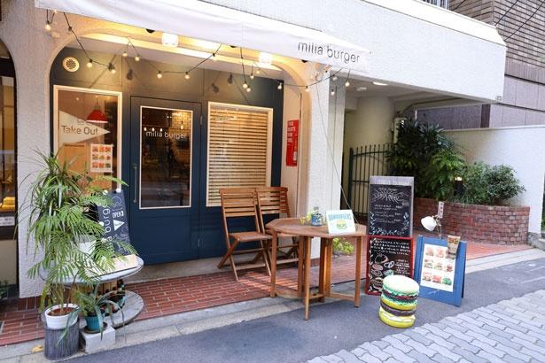 日本初のカスタムバーガー店「ミリアバーガー」は2016年に新町にオープン
