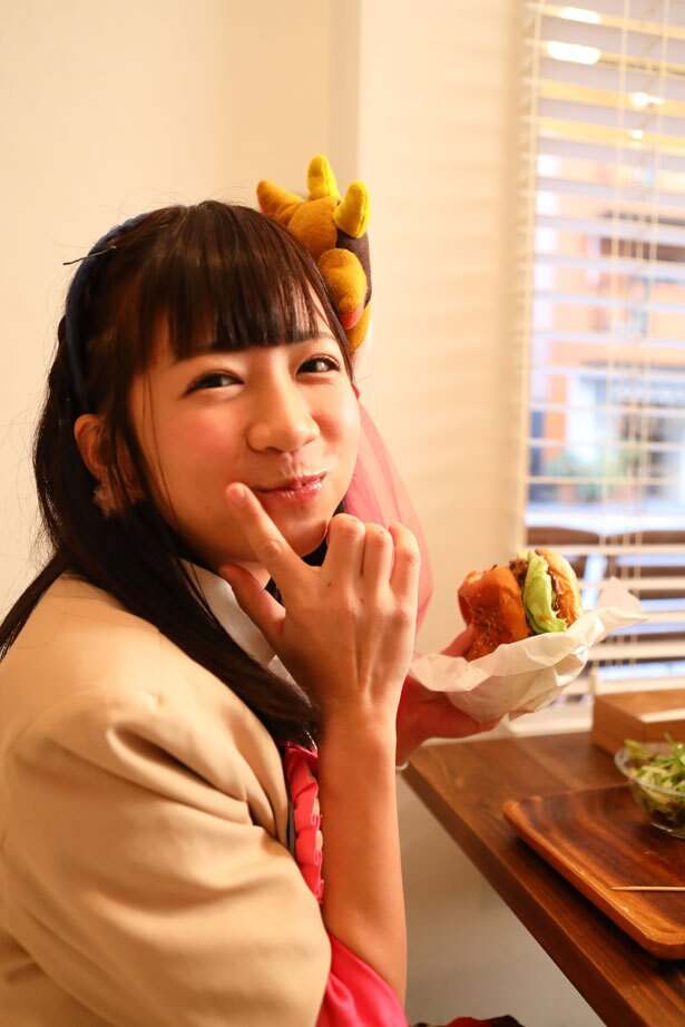 待ちに待ったハンバーガーの味は最高!