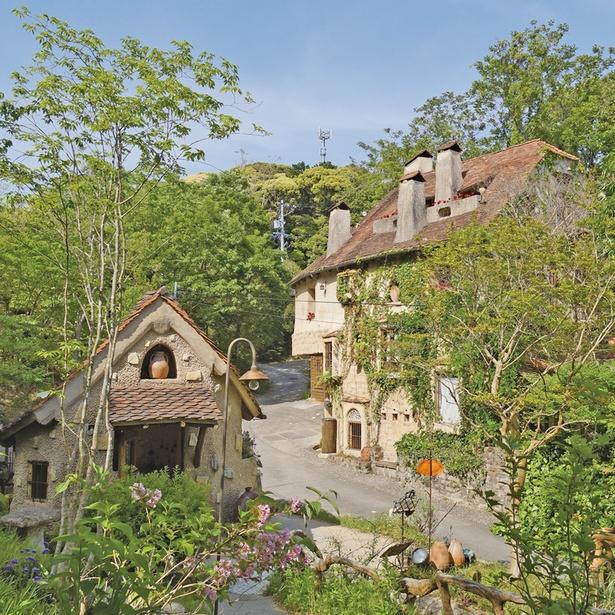 小さな森の中に広がるメルヘン空間「ぬくもりの森」