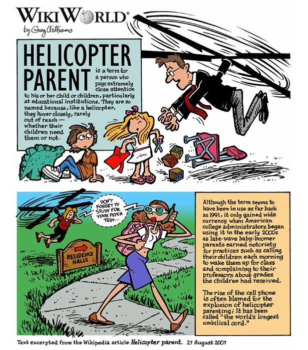 【写真を見る】米国でもたびたびヘリコプターペアレントが問題に