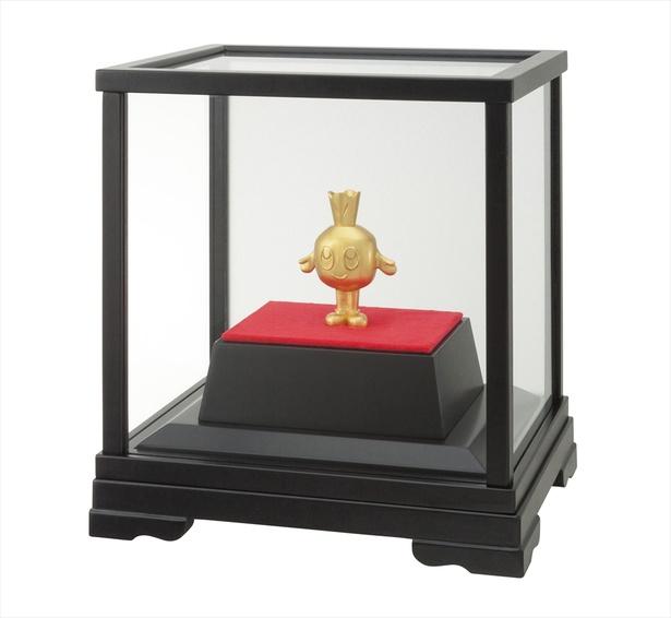 【写真を見る】ケース入りで、本体には純金20gが使用されている
