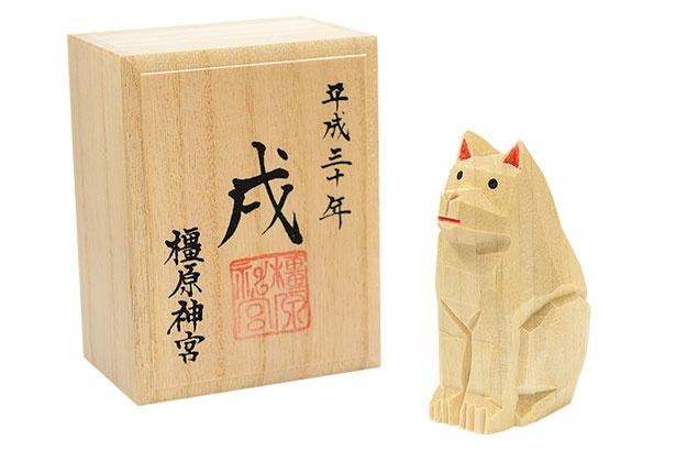 「干支一刀彫り」(2000円)/橿原神宮