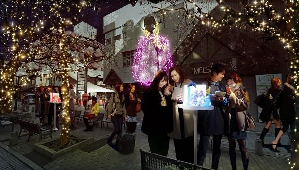 東京・自由が丘でクリスマスイルミネーションイベント「JIYUGAOKA Mistral Lights 2017」が開催