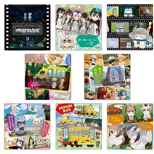TVアニメのシーンカットを使用した「けものフレンズ」缶バッジを冬コミケKADOKAWAブースにて先行発売!