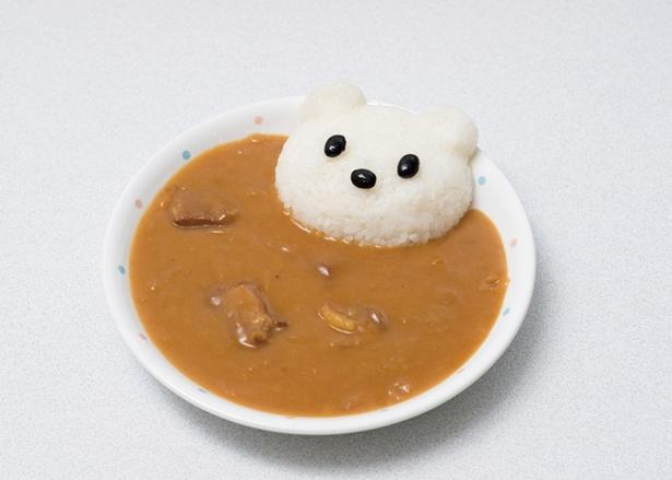 しろくまカレー(子供用500円)