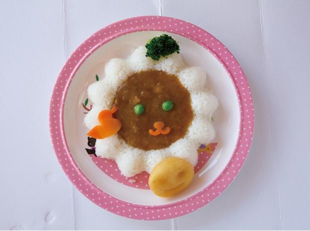 どうぶつカレー(650円)