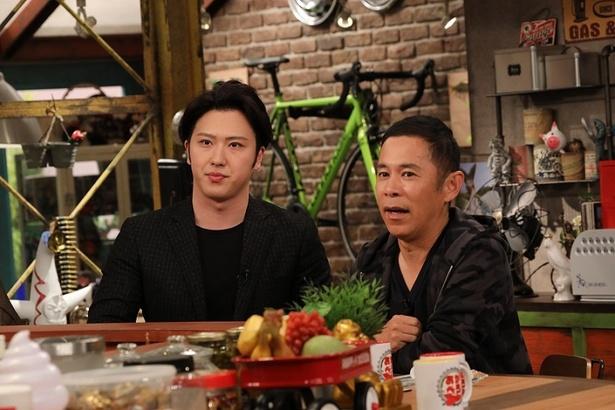 ドラマやミュージカルでも活躍する売れっ子歌舞伎役者・尾上松也が「おかべろ」に登場