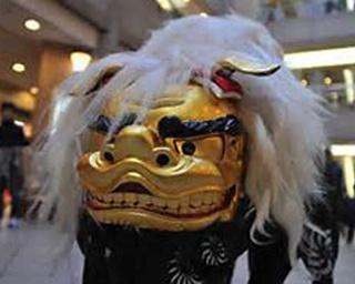 正月の風物詩「獅子舞」を観て、無病息災を祈ろう