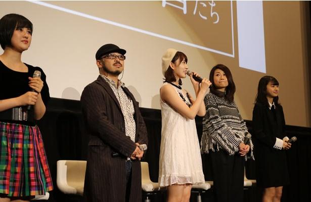 HKT48の1期生でグループ結成当初から活躍する宮脇咲良(写真中央)