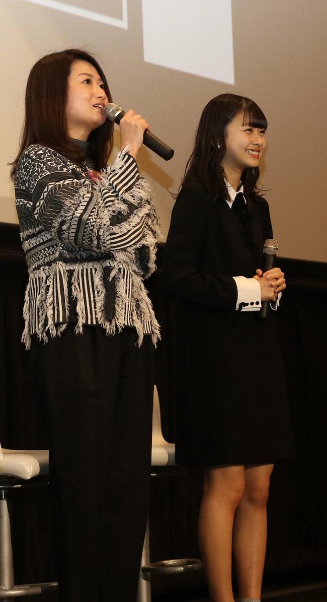 「遠ざかって、消えていくもの」の松岡はなと池田千尋監督