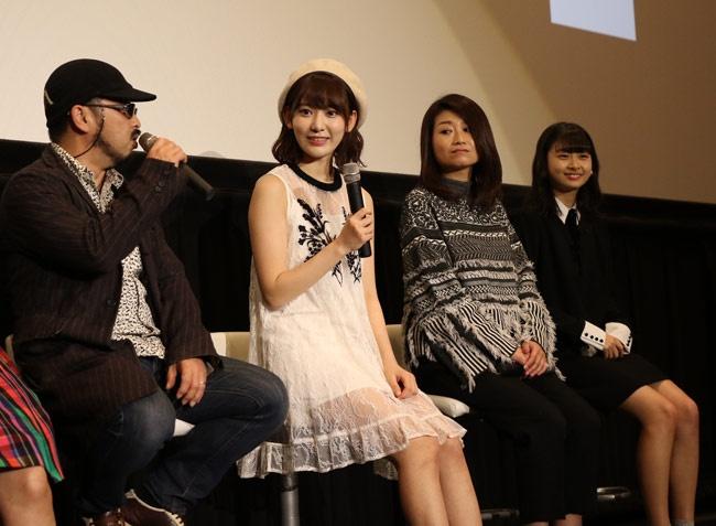 『呪怨』シリーズの清水崇が監督を務めた「見えない棘」でミステリアスな物語に挑戦した宮脇咲良