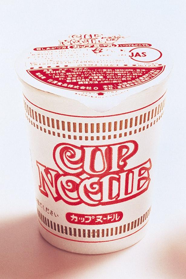 「カップヌードル」を発明した安藤百福さん。この技術を生かし、後に宇宙食ラーメンも開発した