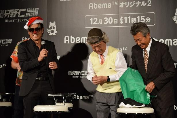 田山涼成には…帽子を!
