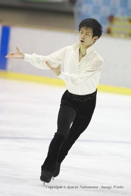 全日本選手権前、最後の調整試合となった愛知県TP大会での山本草太の演技