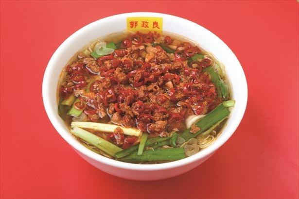 名古屋のご当地麺「台湾ラーメン」(800円)