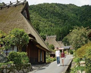 初めて来たのに懐かしい 日本の原風景に癒される