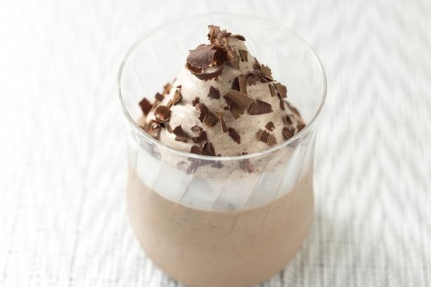 「チョコレートのババロア」388円