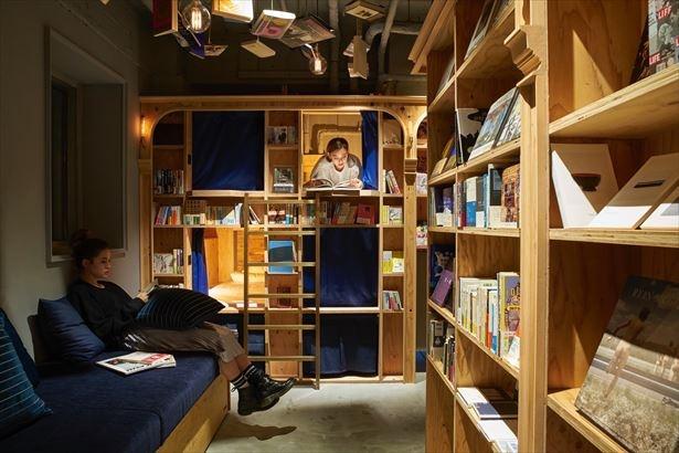 泊まれる本屋「BOOK AND BED TOKYO」5店舗目が東京・新宿に来春オープン