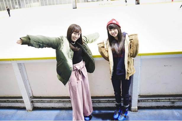 【写真を見る】いざ、スケートリンクの中へ!