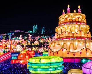 マカロン、ドーナツ、巨大なケーキなどが登場する「Sweet Lantern」