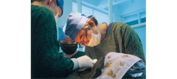 幼児の死亡率が高いミャンマーで、無償での治療を続ける吉岡秀人氏