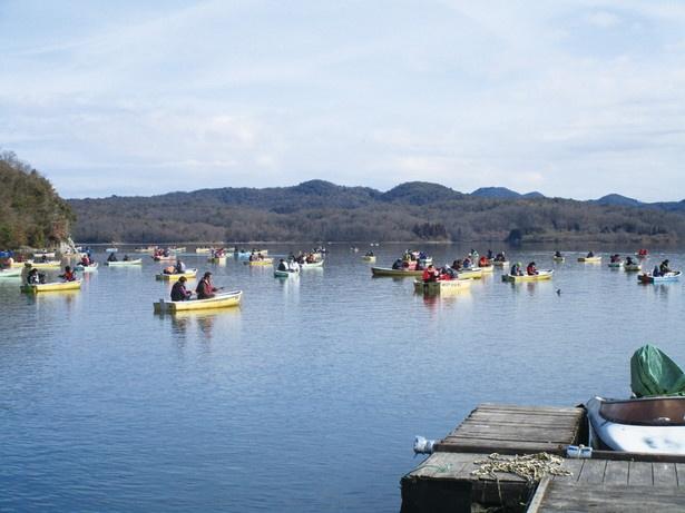 県外からも人が訪れる有名釣りスポット「入鹿池」(愛知県犬山市)