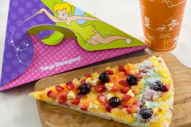 「ティンカーベリーピザ(フルーツ&カスタード)」(単品 500 円 )