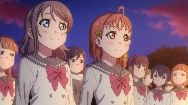 """「ラブライブ!サンシャイン!! TVアニメ2期」第11話のカットが到着。いよいよ浦の星女学院最後のお祭り""""閉校祭""""が始まる!"""