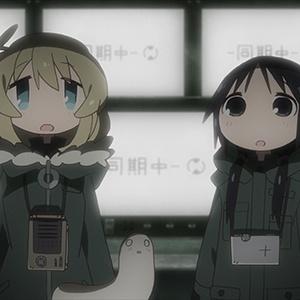 「少女終末旅行」最終話の先行カットが到着。巨大な潜水艦の中で2人が見たものは!?