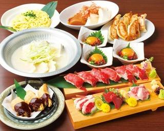 焼き、揚げ、炊きの餃子が楽しめる/THE GYO  名駅東口店