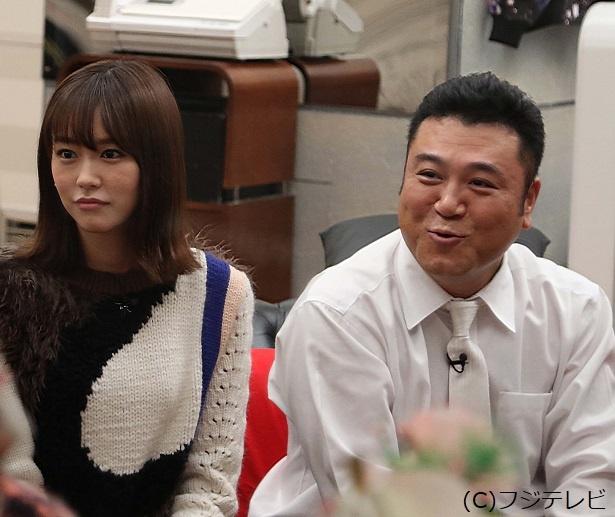 「いきなりドッジ」企画には、桐谷美玲と山崎弘也が参戦!
