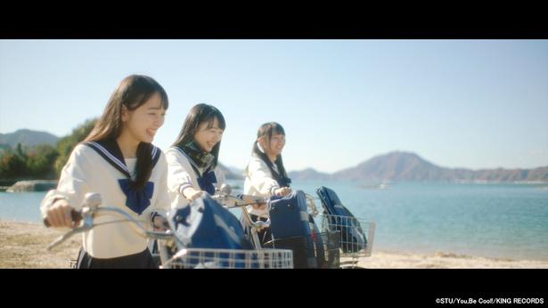 STU48 1stシングル「暗闇」MVより